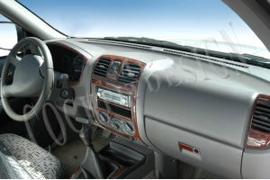 Isuzu D-Max Mk1 Dash Trim Kit 3M 3D 6-Parts