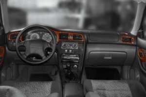 Subaru Legacy Mk1 Dash Trim Kit 3M 3D 10-Parts