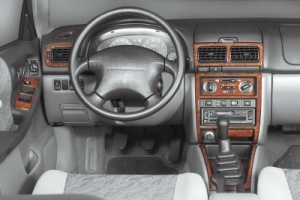 Subaru Forester Mk2 SG Dash Trim Kit 3M 3D 13-Parts