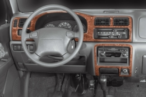Suzuki Wagon R  Dash Trim Kit 3M 3D 4-Parts