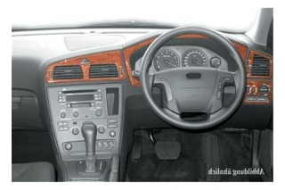 RHD Volvo S60  Dash Trim Kit 3M 3D 8-Parts