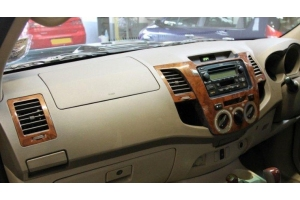RHD Toyota Hilux 2005-2011  Dash Trim Kit 3M 3D 5-Parts