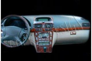 Toyota Avensis Mk2 T25 01.03 - 12.05 Dash Trim Kit 3M 3D 9-Parts