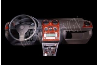 VW CADDY Mk3 2K Dash Trim Kit 3M 3D 15-Parts