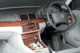 RHD BMW 3 Series E46 Dash Trim Kit 3M 3D 25-Parts