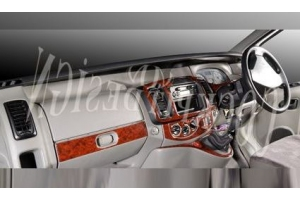 RHD Vauxhall Vivaro 2007 up Dash Trim Kit 3M 3D 17-Parts
