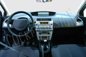 Citroen C4 Mk1 Dash Trim Kit 3M 3D 18-Parts