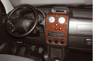 Citroen Berlingo Mk1 Dash Trim Kit 3M 3D 11-Parts