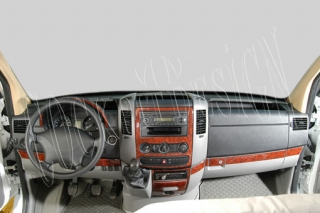 Mercedes Sprinter Mk2 W906 2006 up Dash Trim Kit 3M 3D 18-Parts